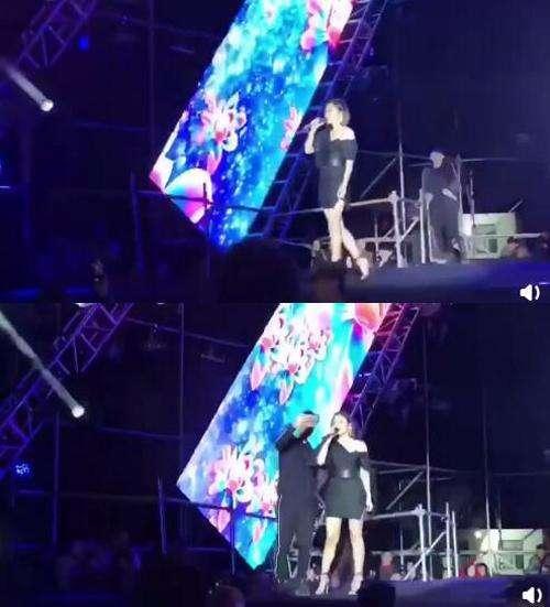 演唱現場張靚穎遭受瘋狂歌迷驚嚇,脫口而出兩字卻令人感動不已!