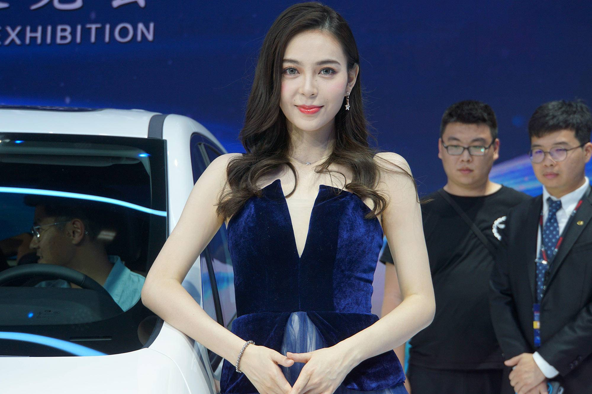 新车不够车模来凑,2018广州车展模特最全图解