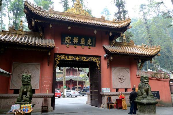 四川免费皇家寺庙,悟空禅师肉身600年不腐,康熙御赐寺名