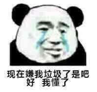 超委屈的熊猫头表情包,隔着屏幕都感受到满满的怨气图片