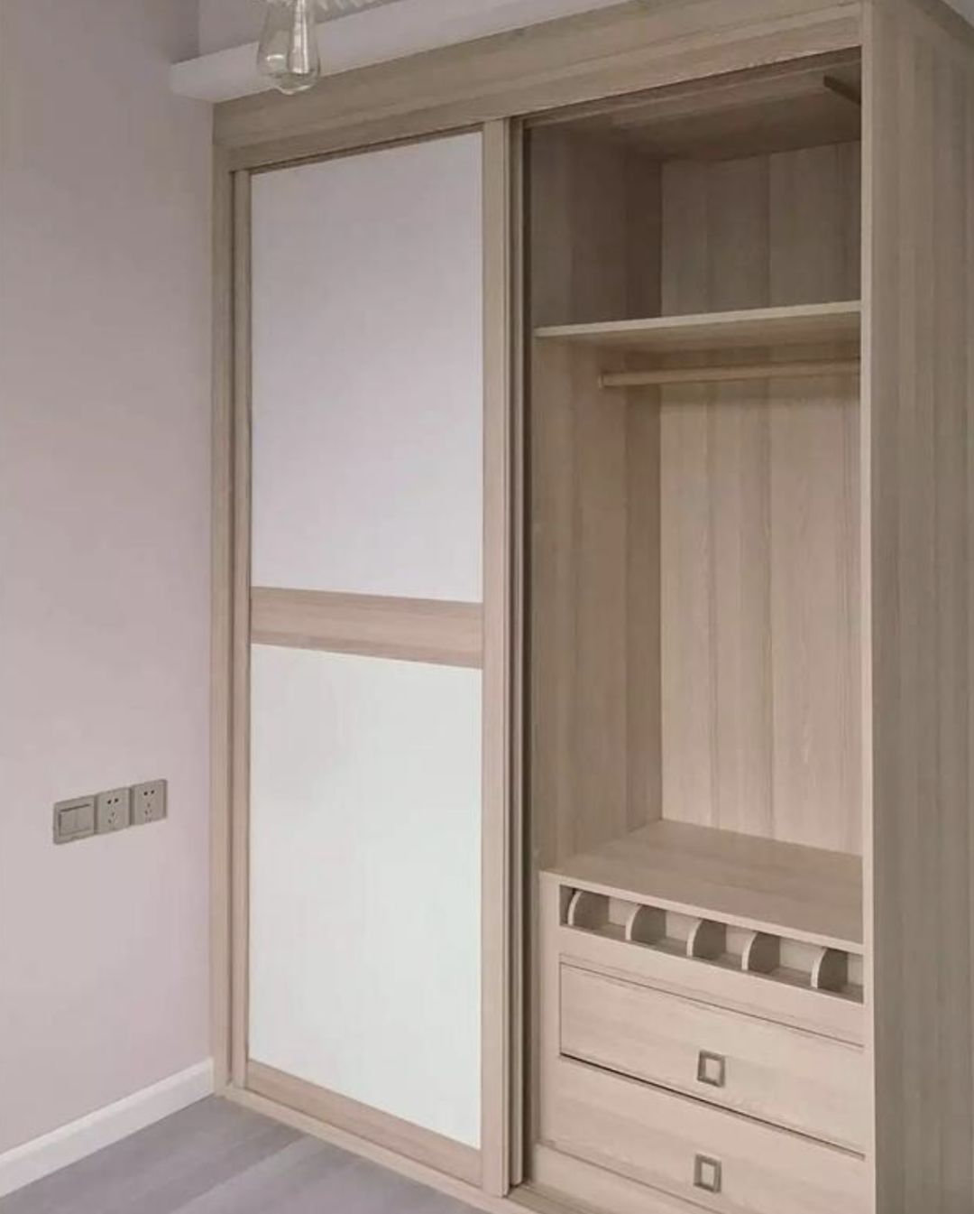 衣柜门用什么颜色好?别等装好了再来后悔
