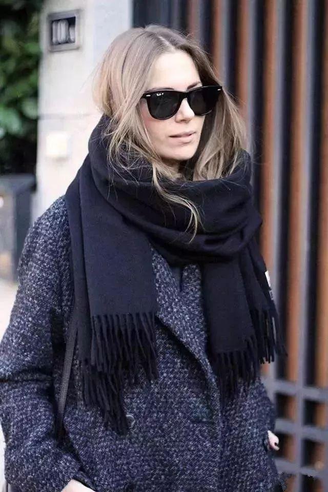 丝巾遮脸防晒系法视频