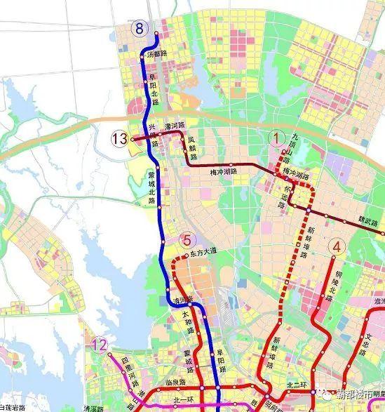 合肥市梁园20年规划图