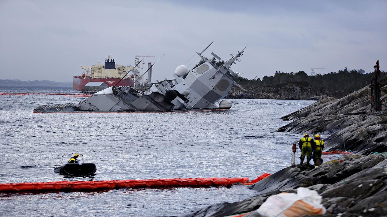 ag电子经验心得自己作死!挪威最强战舰被撞细节曝光:牛哄哄直怼13万吨油轮