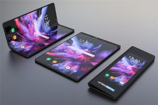 传闻三星折叠手机最快将于明年和大家见面