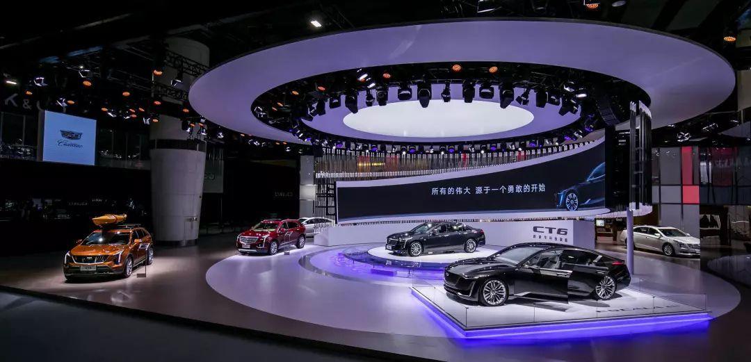 上汽通用汽车携旗下别克雪佛兰和凯迪拉克三大品牌共38款展车闪耀
