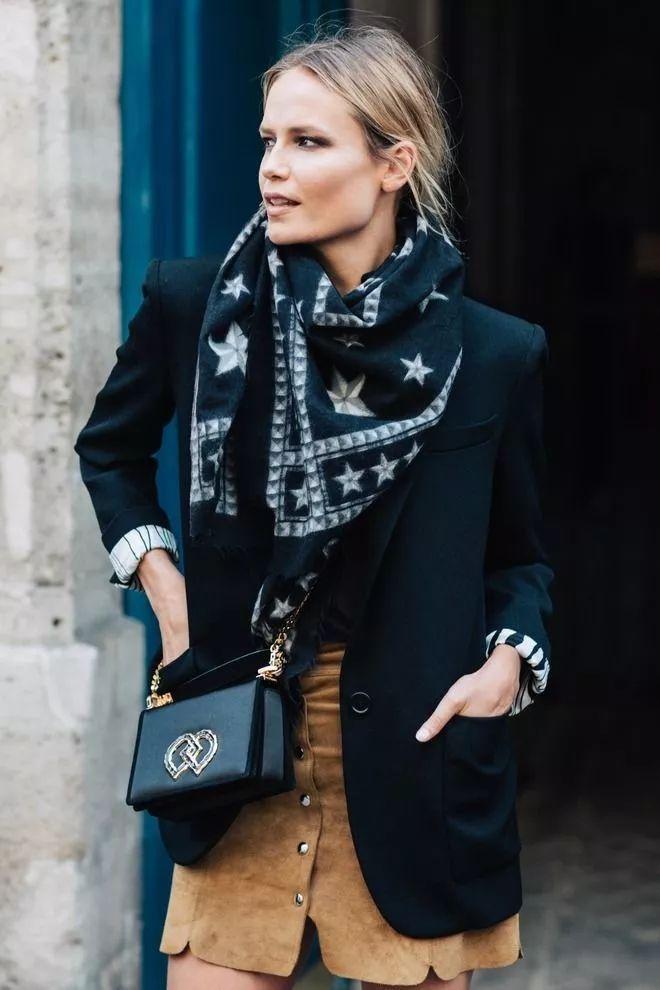 2018圍巾流行這麼系,氣質保暖太時髦了!