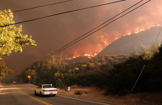 山火导致硅谷雾霾严重有苹果员工在室内也戴口罩