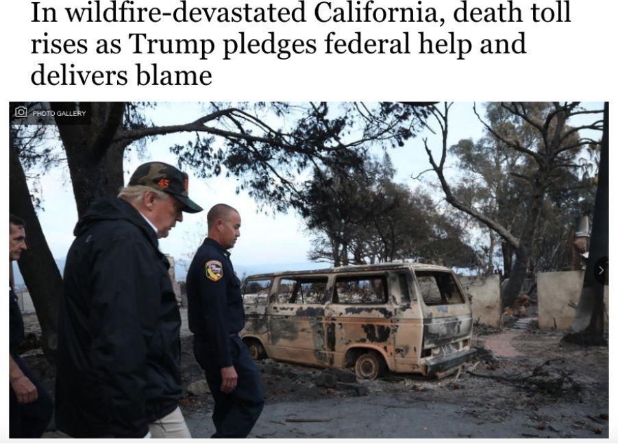 """76人死亡,上千人失踪,""""天堂""""被大火烧得惨不忍睹"""