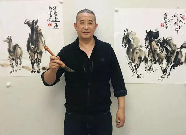 冯冰书画给中国历史的文化书画史上留下浓重的一笔