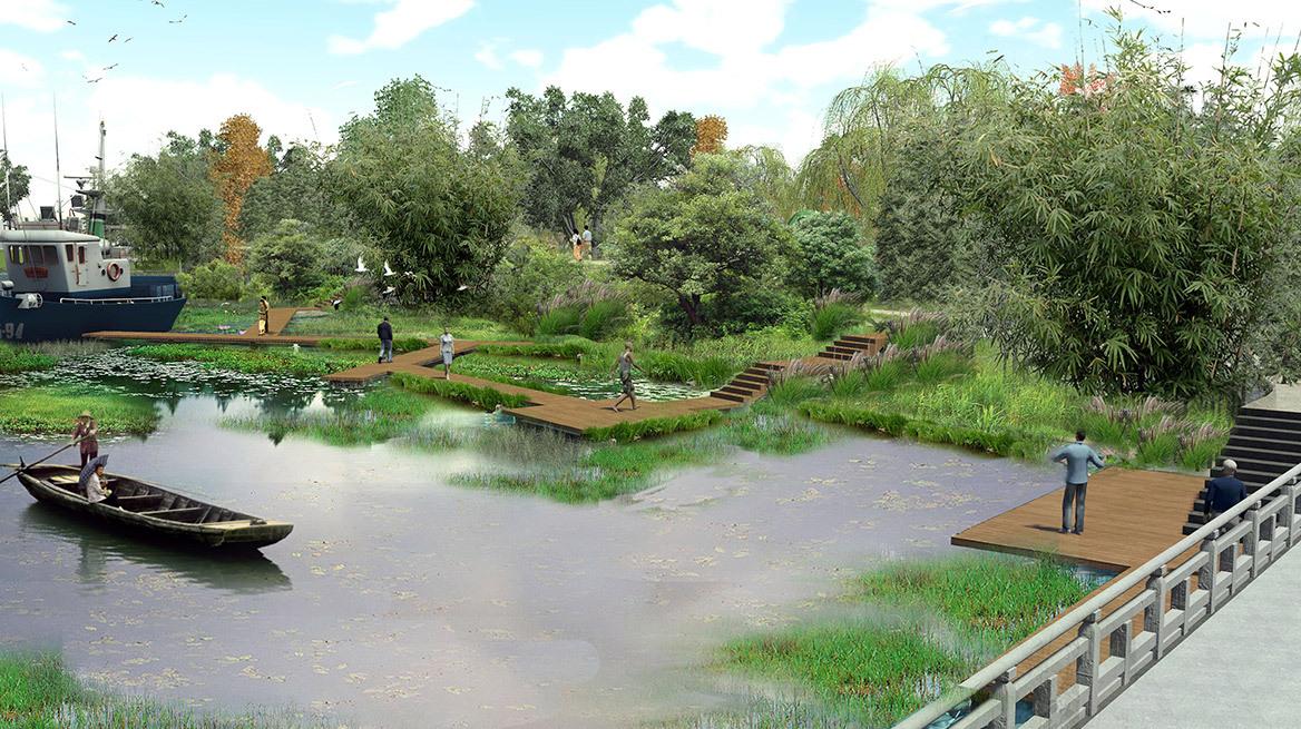 特色小镇景观设计案例效果图图片