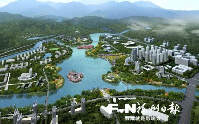 """又一座全市性综合公园快要诞生!福州""""第一大湖""""再曝进展!"""