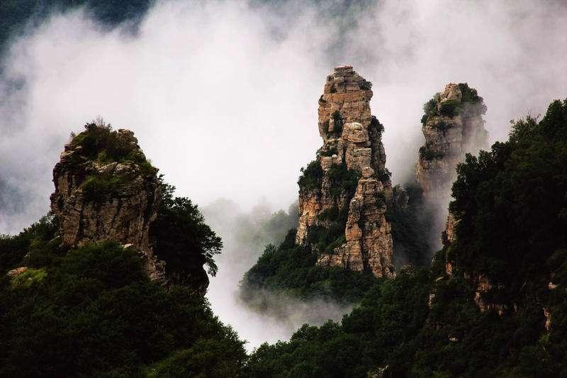 中国名川大山无数  如果去游玩你会去哪个呢?