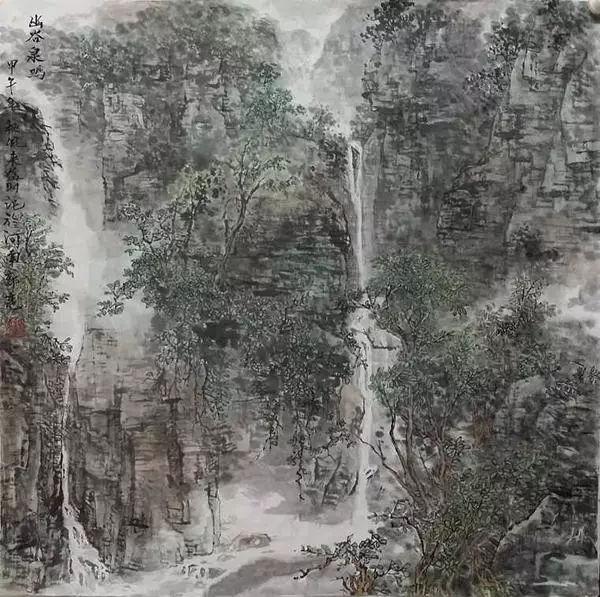 著名画家刘继荣——追真写意之路图片