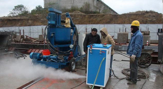广东72kw混凝土养护蒸汽发生器
