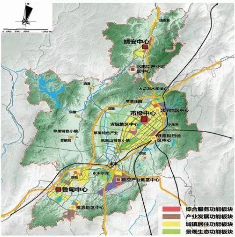 靖安新区规划图