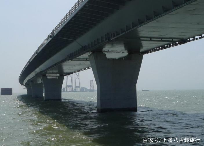 港澳珠大桥如果被巨轮撞击,结果会如何?设计师:早已考虑到图片