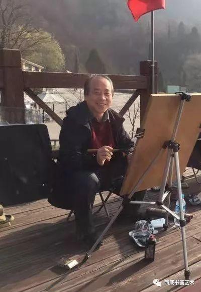 季子泉铜川照金、陈炉古镇写生作品欣赏