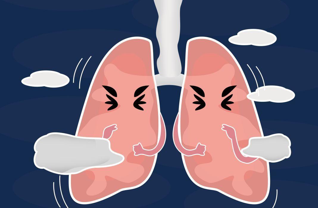 咳嗽老不好,可能是肺出了问题!图片