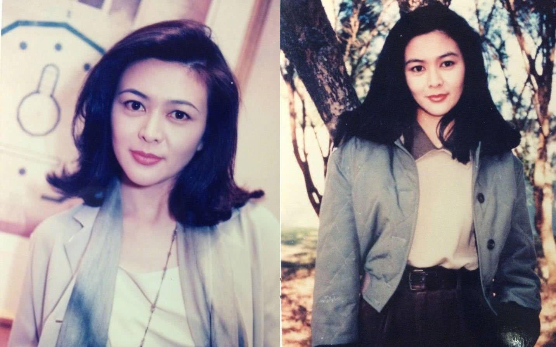 看關之琳年輕時照片,網友們紛紛驚嘆其絕世容貌圖片