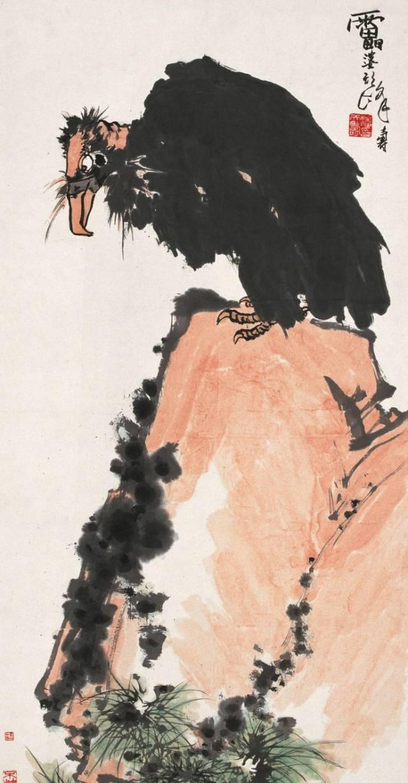 潘天寿 昨晚一幅画拍了2.5亿,其实,我这一辈子是个教书匠,画画只是副业图片
