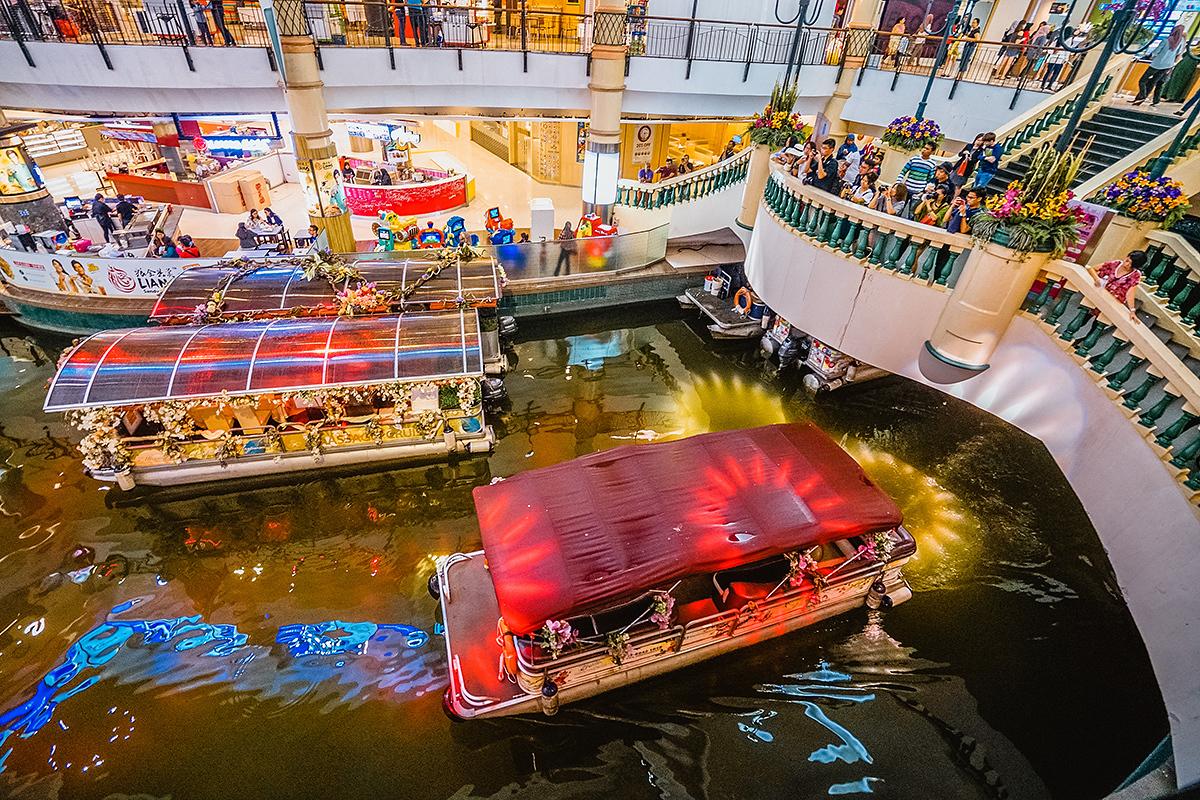 馬來西亞雪蘭莪舊礦湖,華麗麗變身水上運河威尼斯