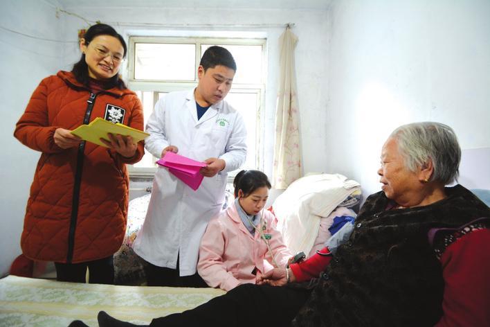 """邯郸市开展社区""""冬季体检进家门""""活动"""