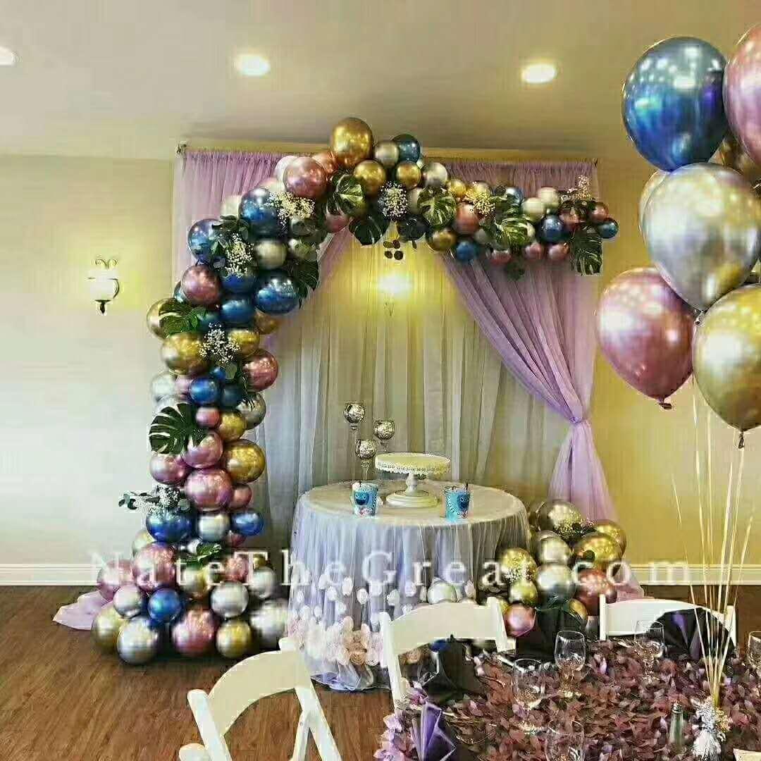 婚礼气球布置图片 给你不一样的装饰灵感