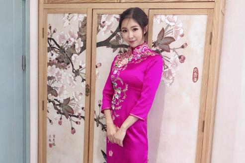 NBA双语主播周玲安现状:与53岁富豪分手,苏炳添也给她捧场