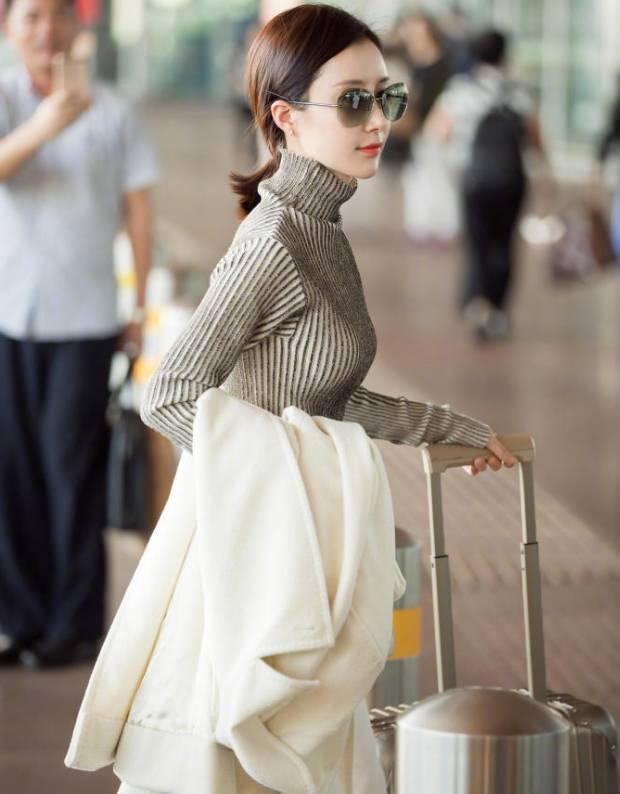 但是到底要怎樣穿,才能像劉詩詩這樣又帥又美呢?圖片