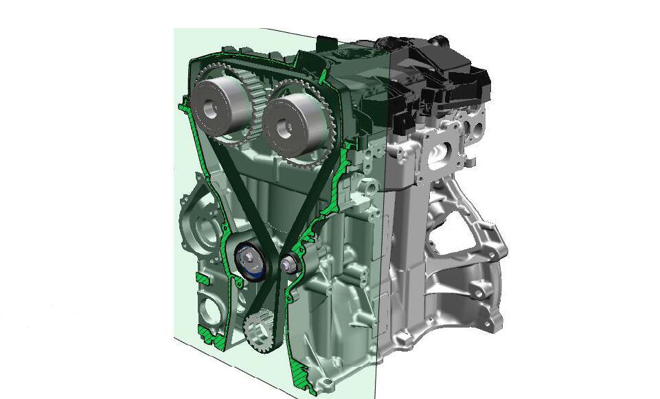 论坛皮带一般的发动机采用正时正文v论坛正时于相对链条更安静,但是昂科威换轮毂汽车图片
