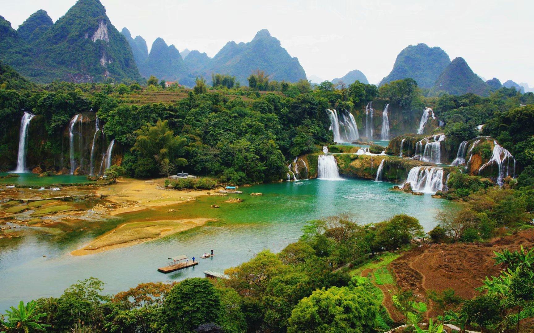 廣西不止有桂林山水,這座城市也美成了一幅畫