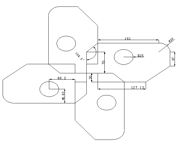 CAD平面图绘制