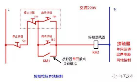 接触器的n类常用接线电路图和实物图分享 超实用!_控制
