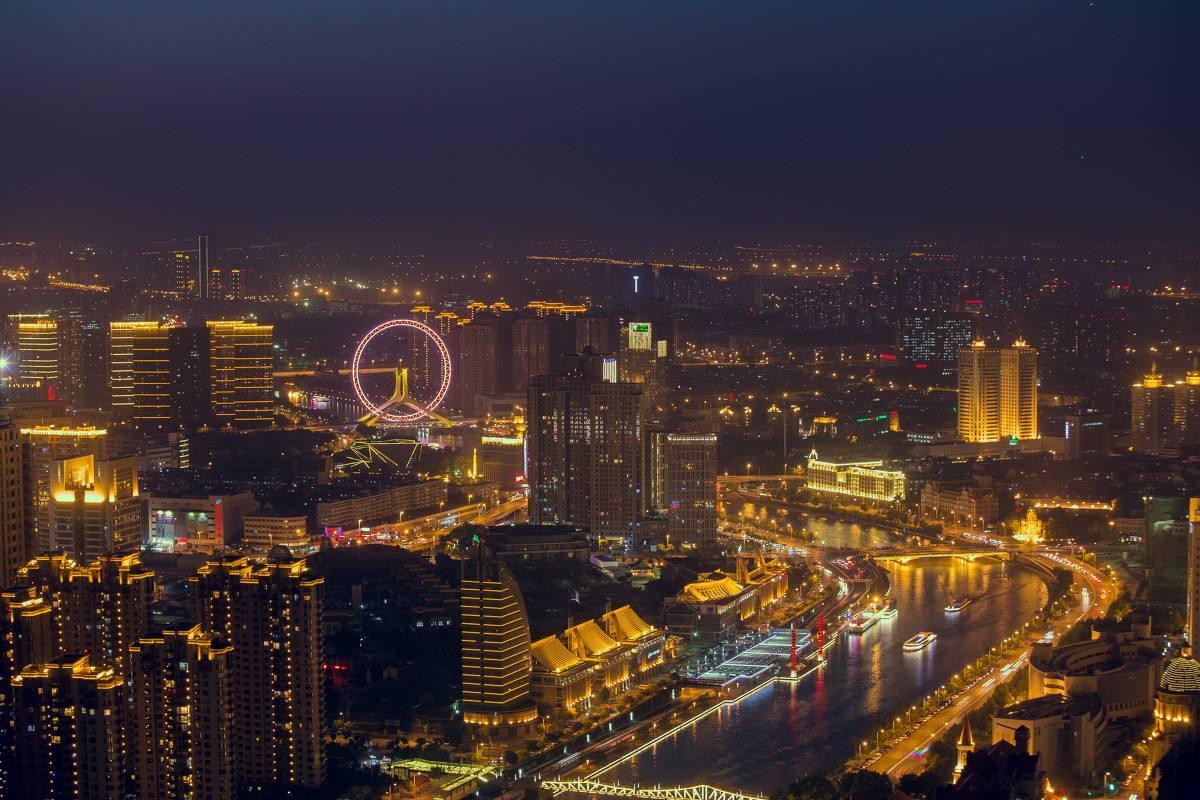 天津上半年经济总量_天津经济开发区图片