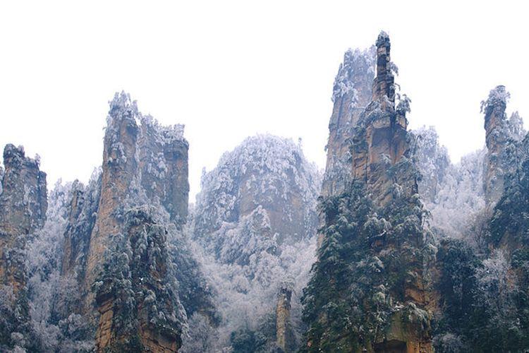 冬天的张家界是非常漂亮的 去旅游需要注意些什么呢?