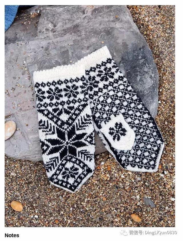 【编织图解】50款拉脱维亚图案的手套编织图(英文)