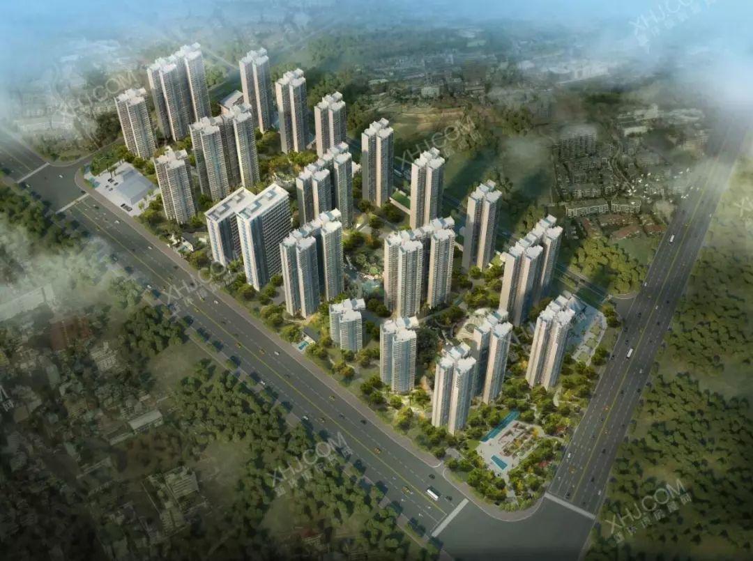 树木岭纯新盘 6项目认筹中,1300套住宅入市,均价6300起