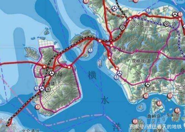 國內首條修建的海底隧道高鐵,它全程是77公里,7個城市將受益