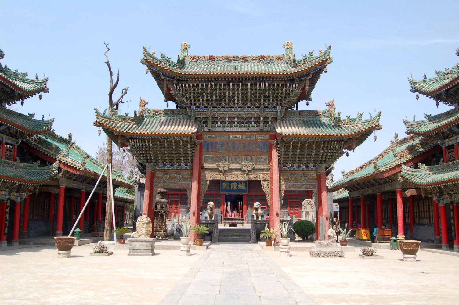 西安向北半個小時,去欣賞全國保存最完好的城隍廟,逛周家大院,吃中華名小吃