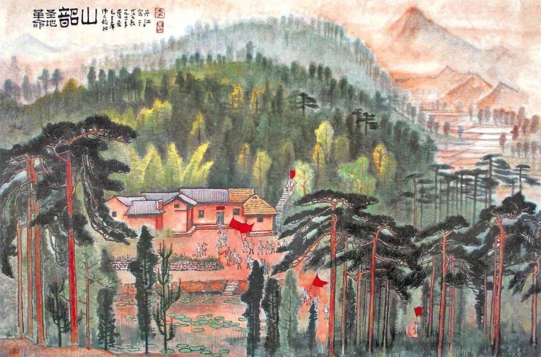 红色主题绘画是创作,更是历史与文化