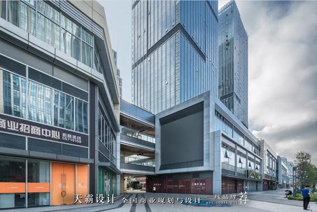 山东青岛wfc协信中心商业设计欣赏:外立面设计图片