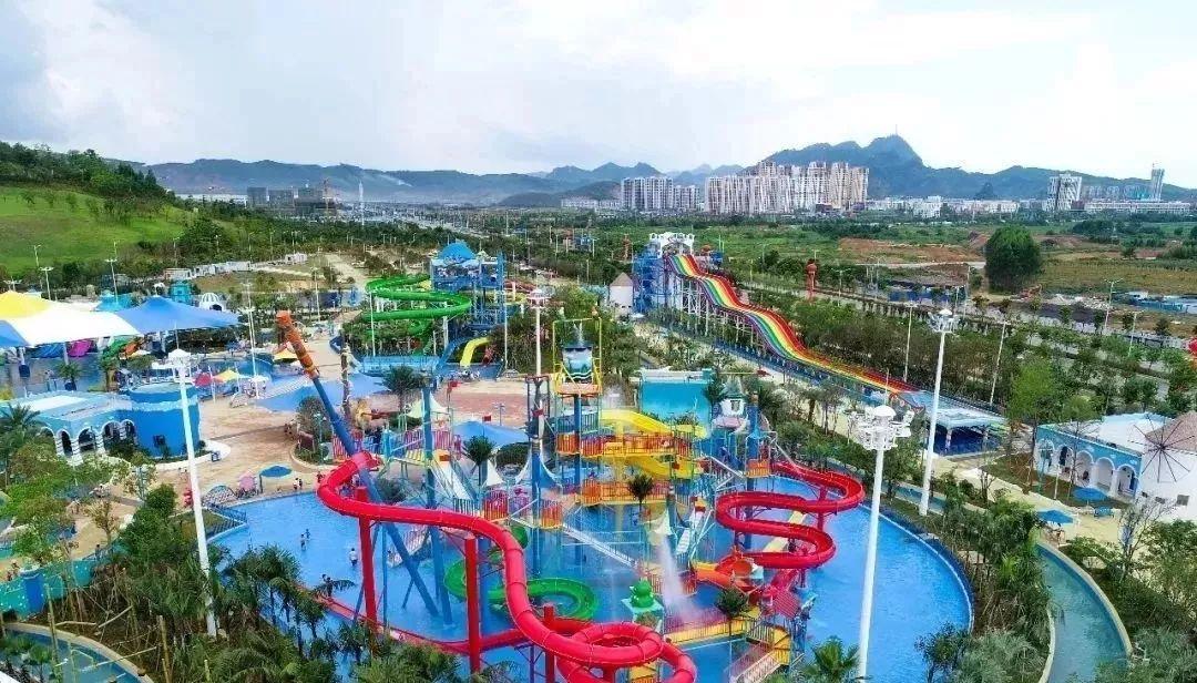 文化演藝 休閑配套于一體的 大型主題水上樂園 9月30日柳州萬象城正式圖片