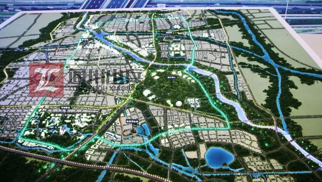 北京城市副中心绿心