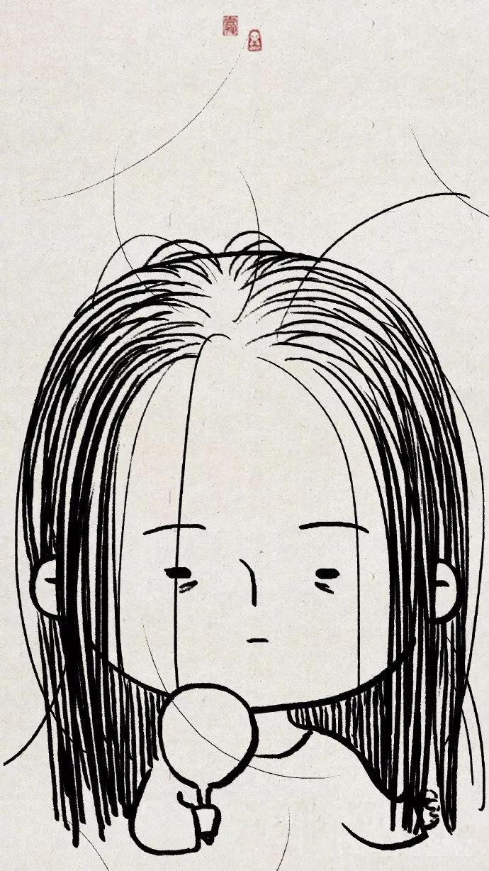 图片来自微博@一禅小和尚 为什么家里到处都是头发, 偏偏我的头上没有图片