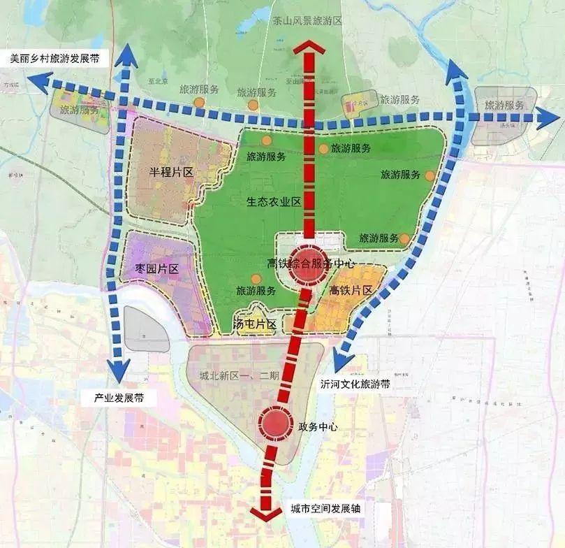 为了解决这一问题, 市政府规划在高铁片区 修建温凉河路,沭河路,汤