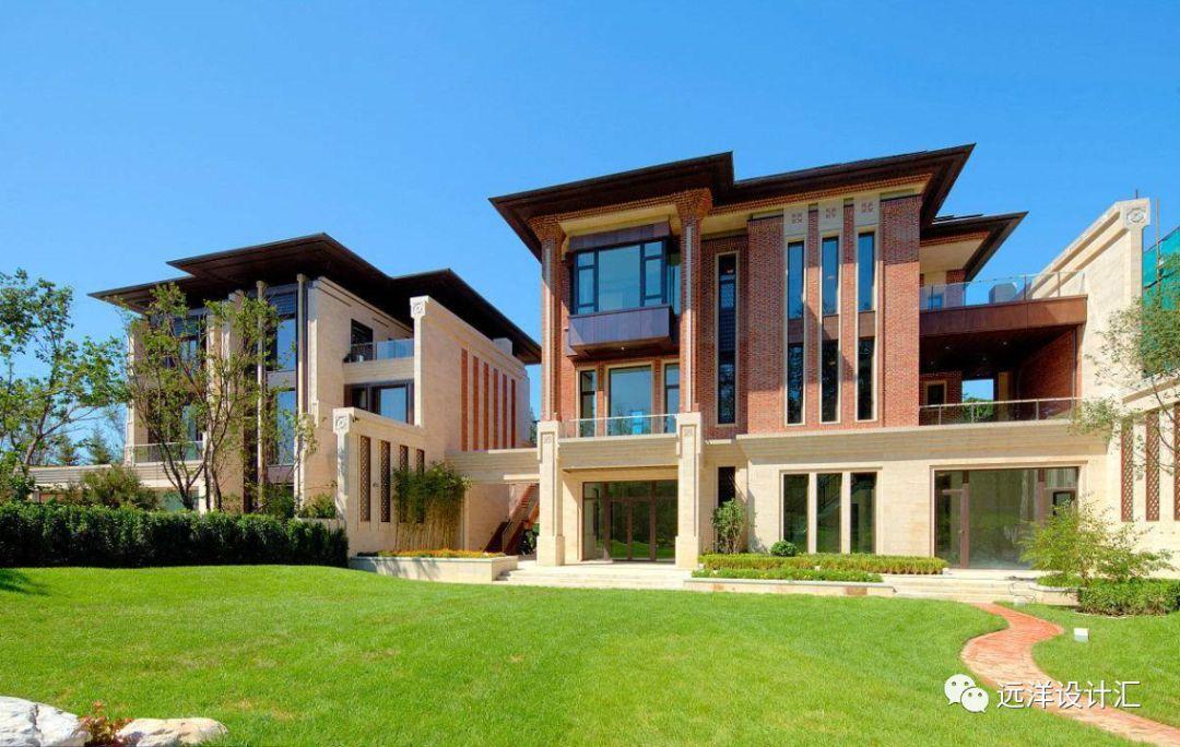 中国当代新中式合院别墅的开发与设计图片