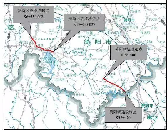 東西向快速路:青金,彭青淮,成金簡等8條快速路為直聯兩翼的東西向圖片