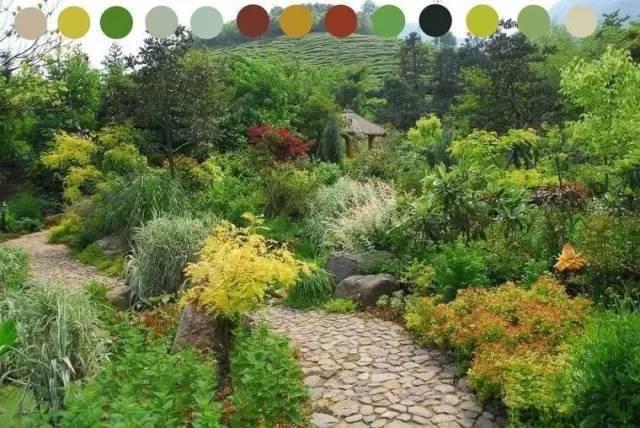 【景观设计】浅谈花境中的色彩配置_搜狐汽车_搜狐网
