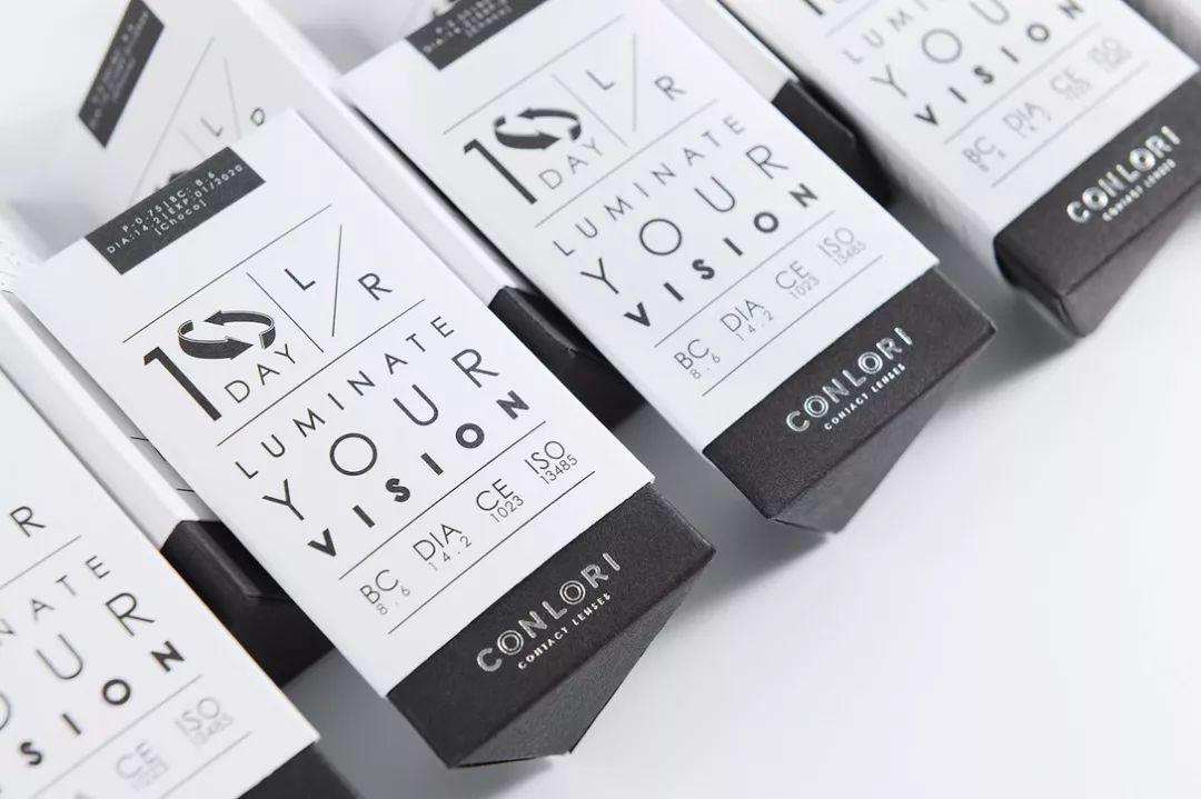 隐形眼镜包装设计